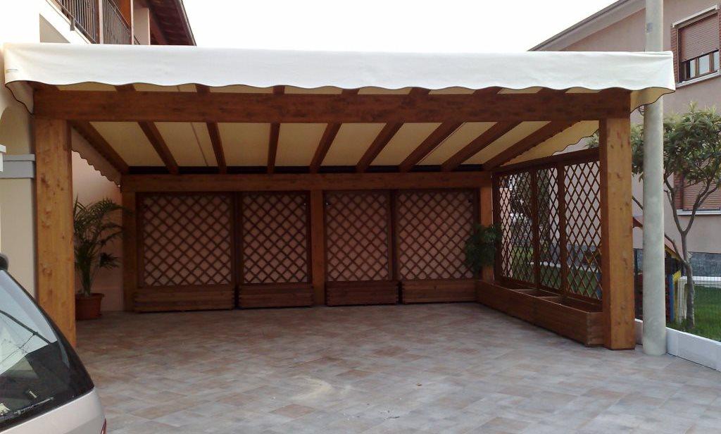 Pergole e coperture per esterno in ferro tendasol - Tettoie in legno per esterno ...