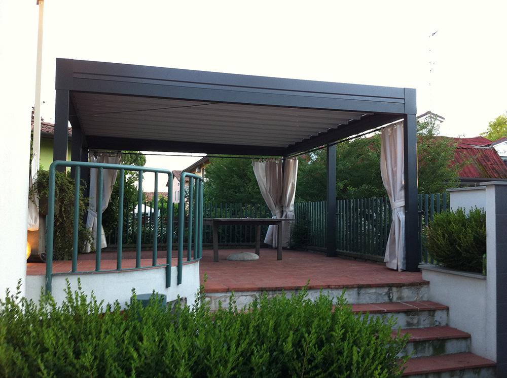Gazebo in alluminio da giardino tendasol - Pergola giardino ...