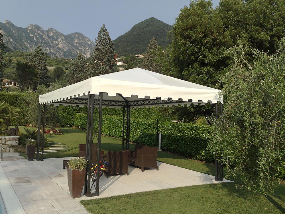 Gazebo in ferro da giardino tendasol - Pergola giardino ...