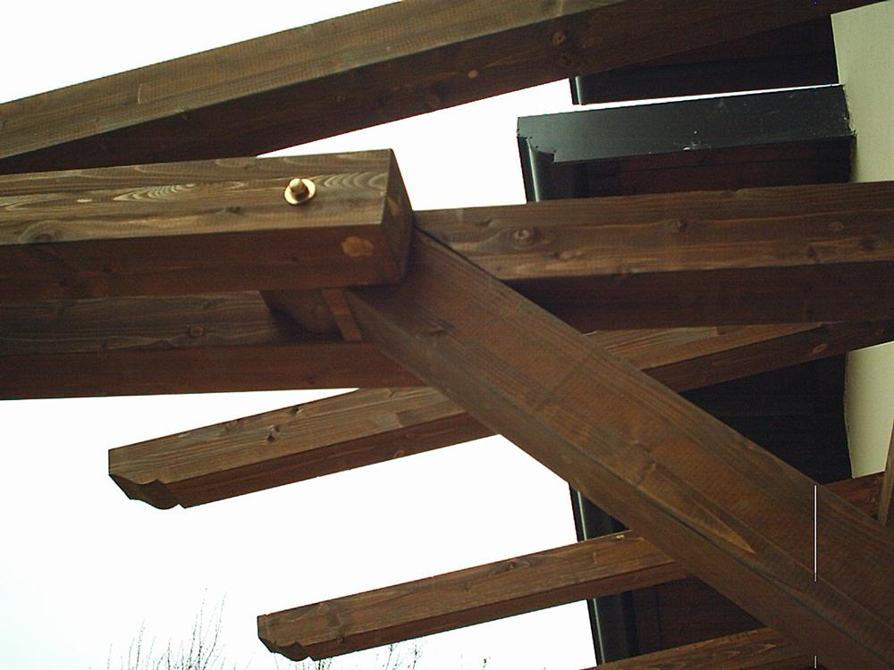 Pensiline in legno per porte e scale tendasol - Legno per scale ...