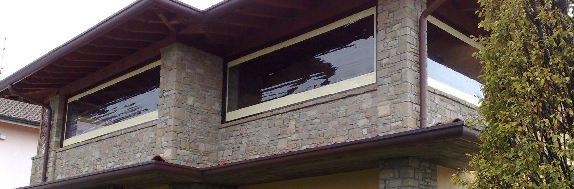 Good chiusure porticati e verande with porticati in ferro - Porticati esterni ferro ...