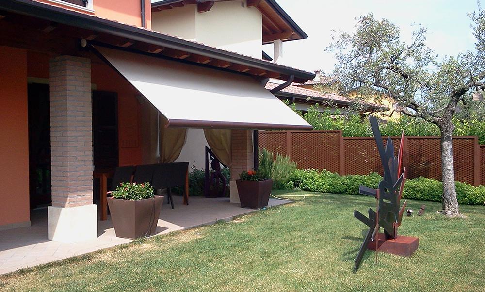 Tende a bracci mod monoblocco tendasol brescia - Tende da sole per giardino ...