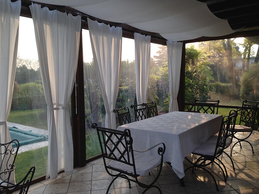 Tende trasparenti tendasol brescia bergamo milano - Tende per esterno ikea ...