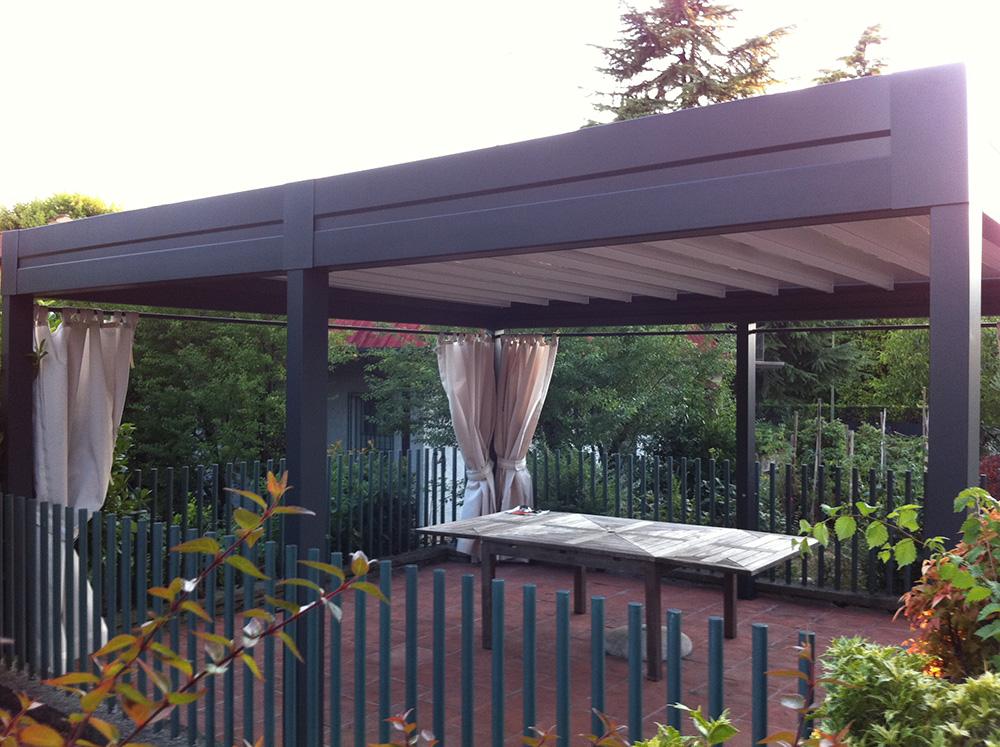 Gazebo in alluminio da giardino tendasol