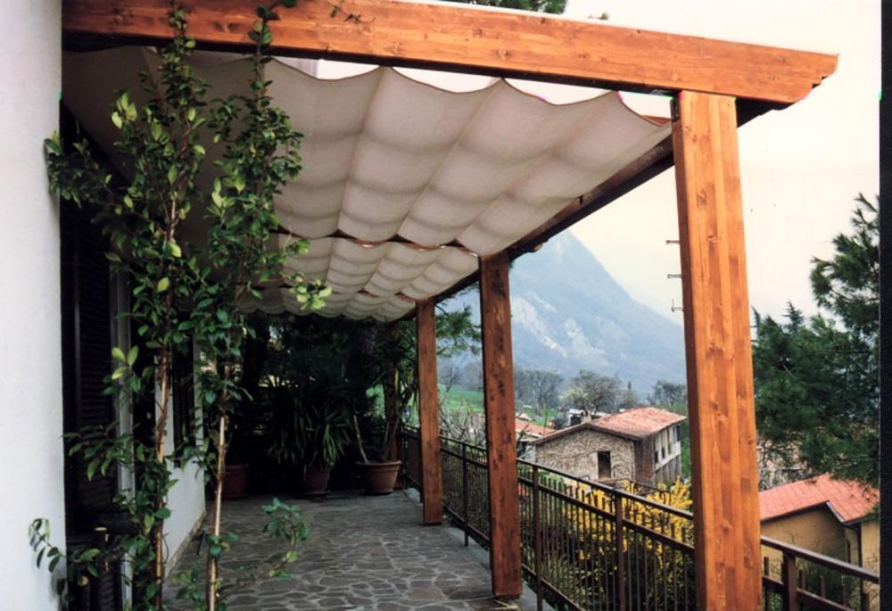 Stunning Pergolato Per Terrazzo Contemporary - Idee Arredamento Casa ...