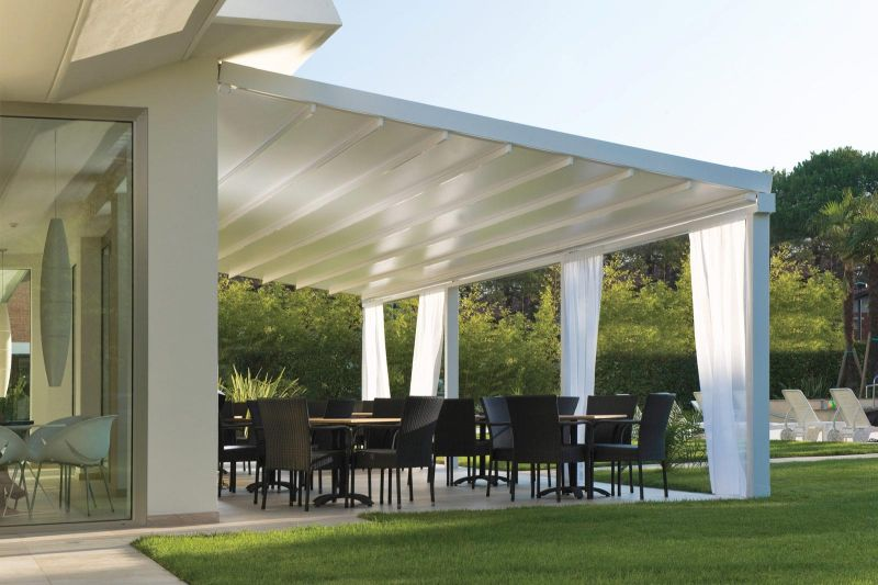 Pergola in Allumino Level Pratic