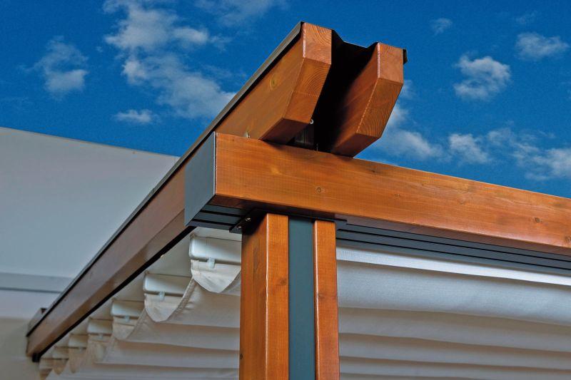 Dettaglio Pergole legno Wood Plus