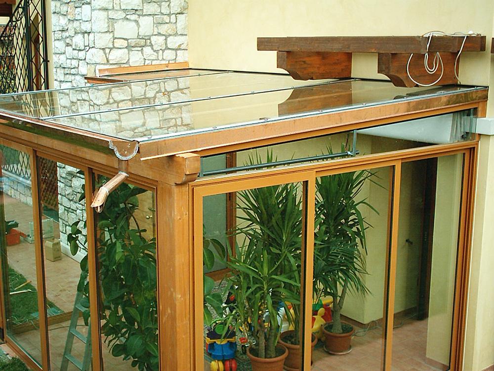 Chiusure porticati e verande tendasol brescia bergamo - Gazebi in alluminio per esterni ...