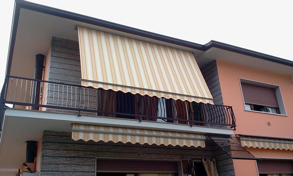Tende da sole per balconi tendasol brescia bergamo milano