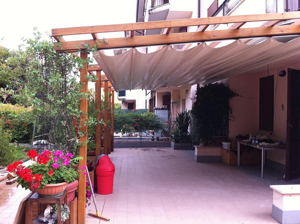 Tende A Pacchetto Per Pergolati.Tende Per Pergolati Tendasol Brescia Bergamo Milano